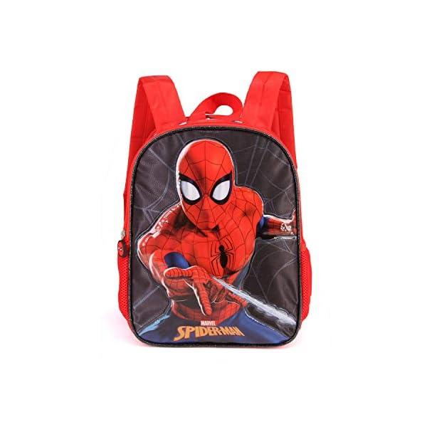 41Ypa4pxunL. SS600  - Karactermania Spiderman Spiderweb-Dual Rucksack (Klein) Mochila Infantil 32 Centimeters 9.25 Rojo (Red)