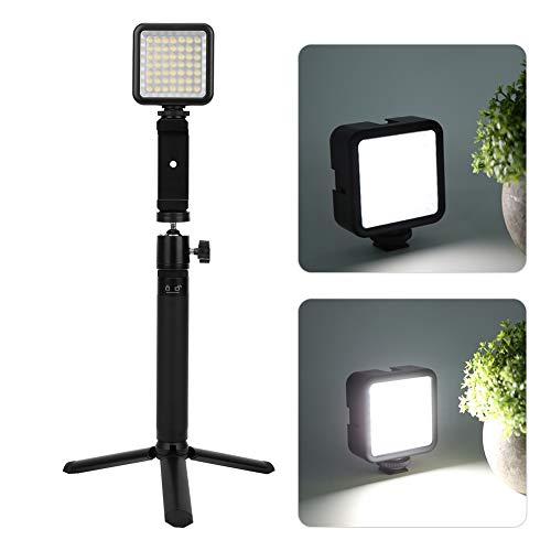 Selfie Stick, soporte en vivo de caucho natural para ver televisión para grabar videos