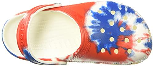 Crocs Unisex-Adult Men's and Women's Classic Tie Dye Clog