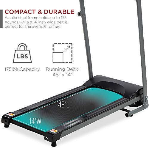 Best Choice Foldable Pink Treadmill