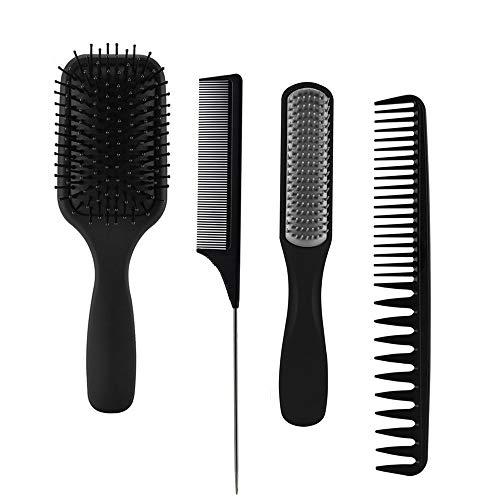 Jeu de brosses à cheveux 4 pièce...