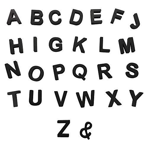 Letras magnéticas del alfabeto de EVA, 142 imanes suaves para nevera, herramientas educativas con caja de almacenamiento para niños, adultos, oficina, uso en el hogar