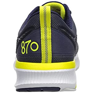 New Balance Men's 870 V5 Running Shoe, Gunmetal/Pigment, 10.5 M US