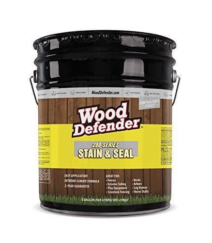 Wood Defender 200 Series Cedar Tone Transparent Stain & Sealer 5-gallon