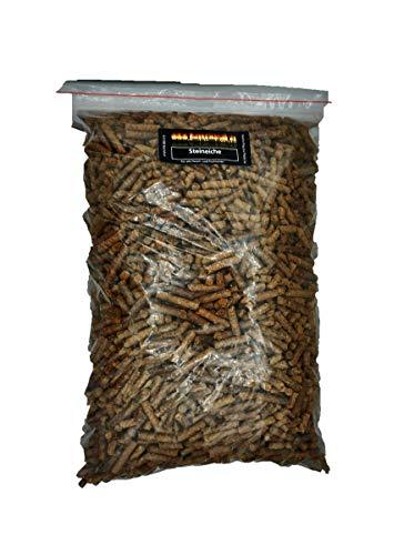 Pellets para barbacoa de roble, 2,5 kg, 100 % pellets de madera de roble, para barbacoa, horno de pellets o ahumador.