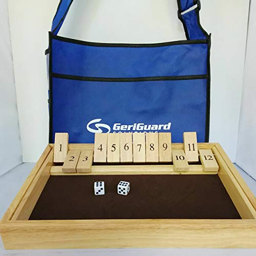 BEAT-THE-BOX Fun Game for All Seniors. Perfect for People w. Memory Loss or Dementia. Improves Concentration. Basic ADDITION of numbers 1-12. Play ALONE or 2-4 Players. Eco-Friendly Tote Bag Included.