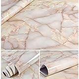 XWSH Papel Pintado de mármol Grueso Impermeable y a Prueba de Humedad gabinete de Cocina Muebles autoadhesivos Pegatinas de renovación Pared de Papel Tapiz (Color : E)