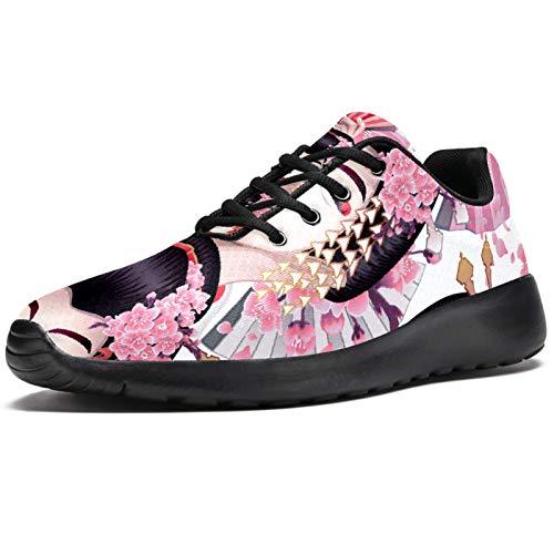 Zapatillas deportivas para correr para mujer y mujer, de malla transpirable, para senderismo, tenis, color, talla 38.5 EU