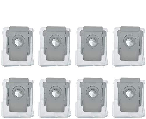 HYB Paquete de 8 bolsas de vacío compatibles con iRobot Roo