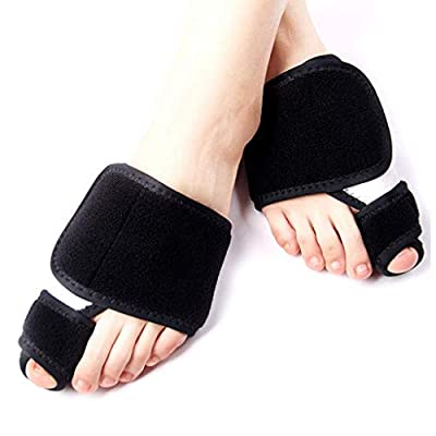 HAOT Protectors Bunion Big Toe Stretcher Bunion Corrector and Bunion Relief, Big Toe Bunion Corrector Splint for Women and Men Night Time, Surgery Recover Pain Relief and Treat and Prevent Valgus