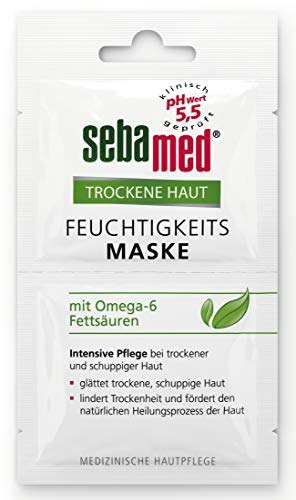 Sebamed vochtmasker voor de droge huid, 6 stuks (6 x 10 ml)
