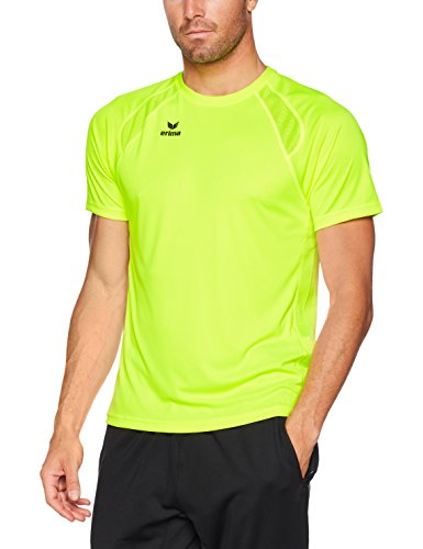 Erima Herren T-Shirt Performance T-Shirt, neon gelb, XL, 8080723