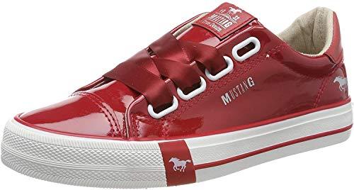 Mustang Damen 1313-301-5 Sneaker, Rot (Rot 5), 39 EU
