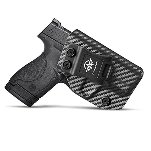 M&P Shield 9mm Holster, Carbon Fiber Kydex Holster IWB For...