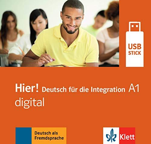 Hier! A1 digital: Deutsch für die Integration. Lehrwerk digital auf USB-Stick