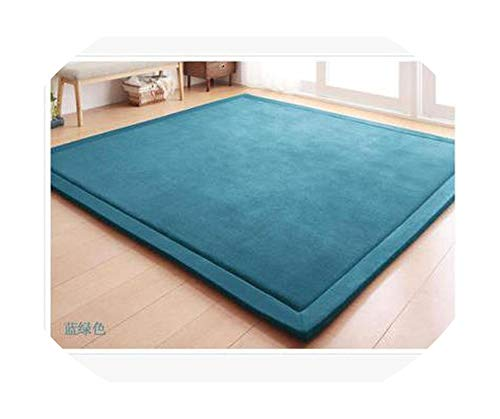 2 Meters Wide 8 sizeCoral Fleece Crawling mat Children's Tea Table Manual Bedroom Living Room Carpet mat,3,2000mm x2500mm
