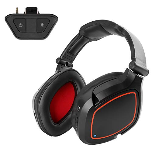Winkona Wireless Gaming Headset Kopfhörer für Xbox one 7.1 Surroundsound mit Abnehmbares Mikrofon Over-Ear