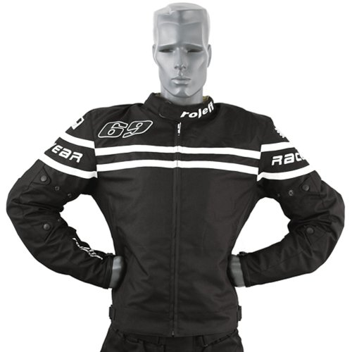 Preisvergleich Produktbild Roleff Racewear 7577 Budapest Motorradjacke Textil,  Größe: XXXL