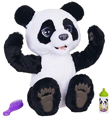 Hasbro FurReal Friends E85935S0 FurReal Plum, Mein Knuddelpanda, interaktives Plüschspielzeug, ab 4 Jahren