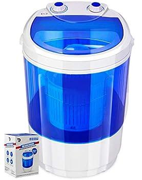 Portable Single Tub Washer - The Laundry Alternative - Washing Capacity Less Than 1.2Kg - Portable Clothes Washer For Small Clothes Like Socks Undergarments Etc - Travel Washing Machine