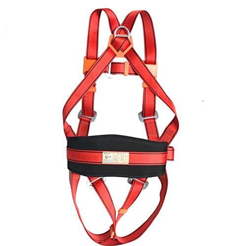 MUTANG 5-Punkt-Rettungsgurt für den gesamten Körper Außenbau Luftarbeit Fallschutz Hochfester Polyester-Sicherheitsgurt