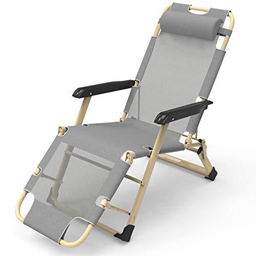 CZLWZZD Chaises inclinables pour Patio Heavy Duty Zero Gravity Chaises Garden Outdoor Beach Transats Chaises Pliantes Lounger Intérieur extérieur