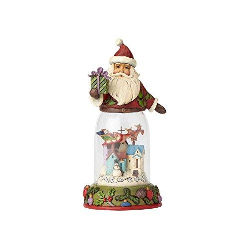 Enesco Jim Shore Heartwood Creek Santa w/Christmas