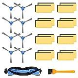morpilot Batterie de Remplacement pour Eufy RoboVac 15C Max, 14.8V 2600 mAh Li-ION Rechargeable, Compatible avec Eufy RoboVac 11 11S 11S Max RoboVac 30 30C 35C 12 15C 15C Max DEEBOT N79S N79 (Bleu)