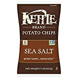 Kettle Brand Natural Gourmet Potato Chips with Sea Salt, 5 oz