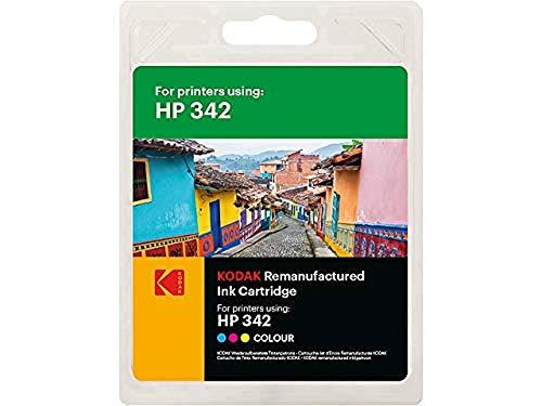 Kodak Supplies 185H034213 Adecuado para HP DJ5420 Tinta Color Compatible también HP342/C9361EE 175 Lados 12ml