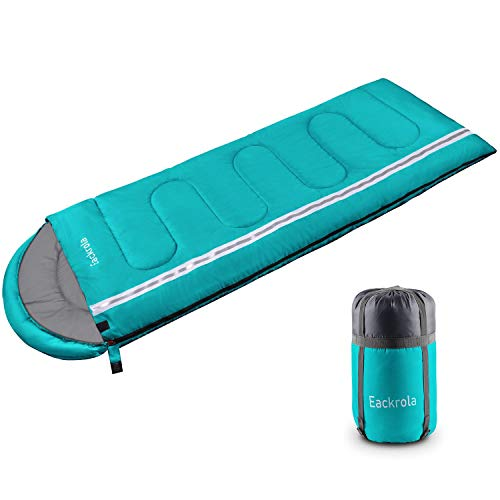 Eackrola Sleeping Bag, Lightweight Waterproof Warm & Cool Weather for...