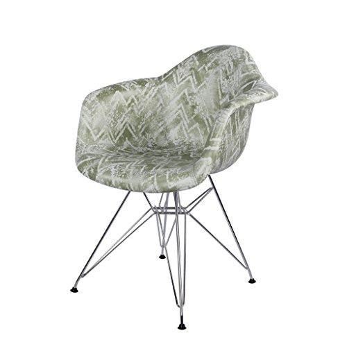 PLL Nordic eenvoudige rugleuning kruk vrije tijd balkon koffie winkel sofa stoel doek kunst stoel ijzer stoel been comfortabel