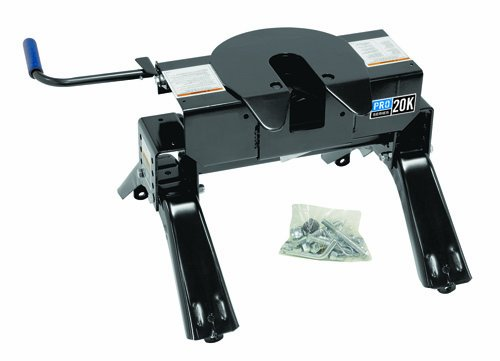 Pro Series 20K Fifth Wheel Hitch (Includes: Head, Head Support, Handle Kit & Legs) (Rail Kit Sold Separately)