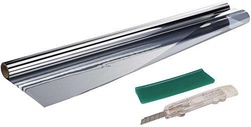 Powerfix® Gebäudefensterfolie - Selbstklebend - UV-, Hitze- und Sichtschutz, ca. 76 x 220 cm