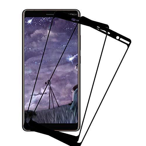 Snnisttek [2 Unidades] Protector de Pantalla para Nokia 7 plus,Nokia 7 plus Cristal Templado Screen Protector, [Anti-arañazos][Anti-Huella Digital][Sin Burbujas][fácil de Limpiar]