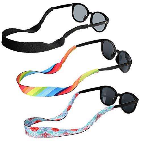 occhiali regolabili Hifot laccio occhiali cordino sole sport uomo donna bambino 3 Pezzi
