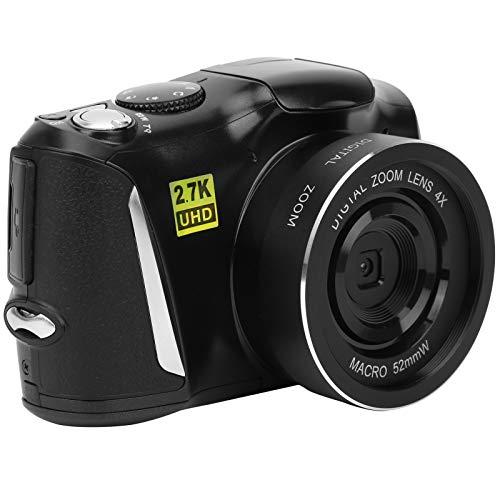 KUIDAMOS Fotocamera Mirrorless da 48MP Fotocamera Digitale per Uso Domestico Videoregistratore ad Alta Definizione Flash Automatico, Scatto Fotografico