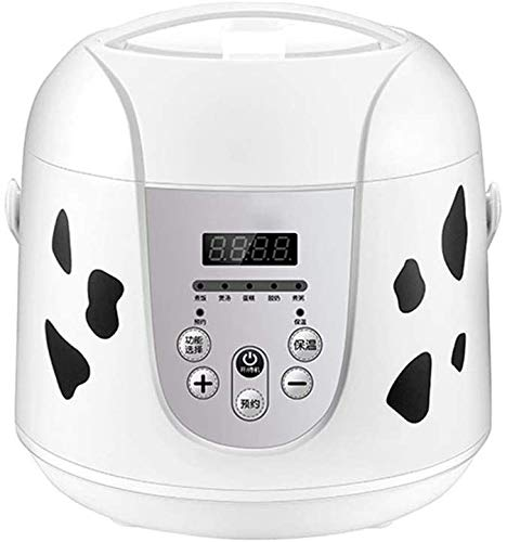 2L Mini Rice Cooker numérique intérieur Pot multi-Cooker Cuit-vapeur portable et multi-fonctionnelle pour soupe porridge de riz étuvé alimentaire 2020