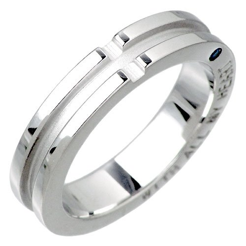 closetomeクロストゥーミーブルーダイヤモンドシルバーリングペアー指輪SR14-007-P
