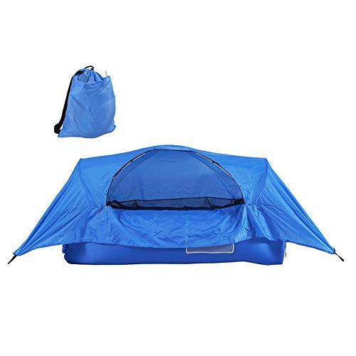 N/T Aufblasbares Campingzelt Tragbares Luftbett-Sofa Großes Familienzelt Tunnelzelt Für Wanderungen Im Freien