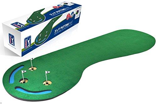 PGA Tour PGAT19 - Alfombra de Golf para Golpes de 3' x 9