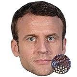 Emmanuel Macron Masques de celebrites