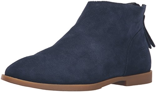 Dirty Laundry by Chinese Laundry Women's Karate Chop Bootie, Navy Suede, 9 M US