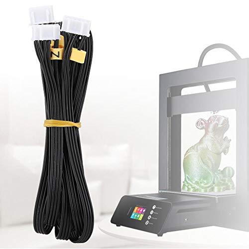 Annjom Cavo Motore Stampante 3D, Cavo Motore Passo-Passo Stampante 3D, Facile da Usare Nero per Motore