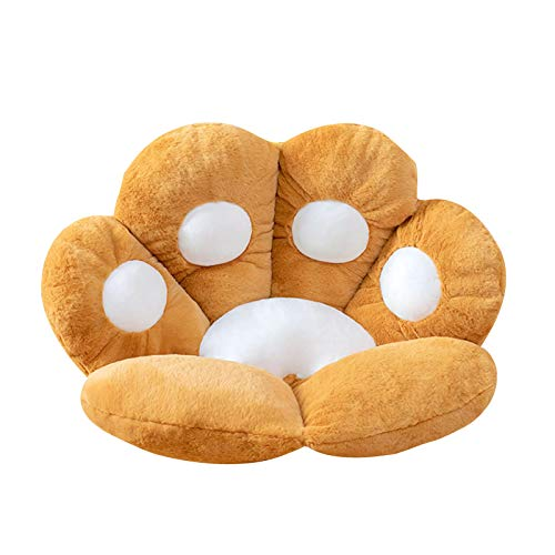 Fenze Seat Cushion Cat Paw Shaped Cute Seat Cushion Cat Paw Shaped Lazy Sofa Office Chair Cushion for Office Room