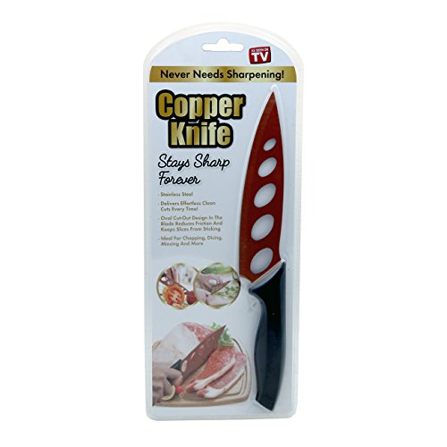 As Seen On TV Home Innovations Non Stick Copper Knife Stay Sharp Forever (2 Pack)