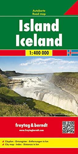 Island, Autokarte 1:400.000