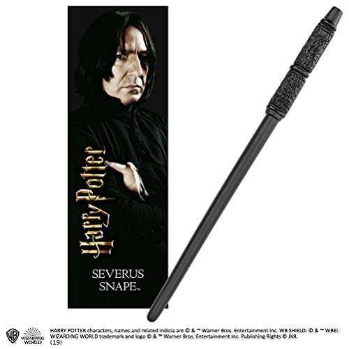 The Noble Collection Severus Snape 30cm PVC Zauberstab mit prismatischem ...