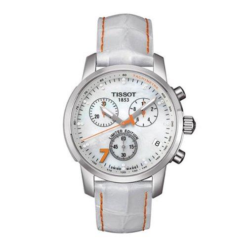 Tissot Damen-Armbanduhr Chronograph Quarz Leder T0144171611600