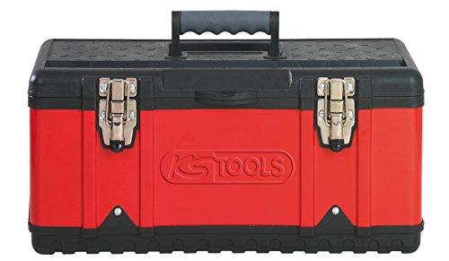 KS Tools 850.0355 Kunststoff-Stahlblech-Werkzeugkiste, 395x180x170mm